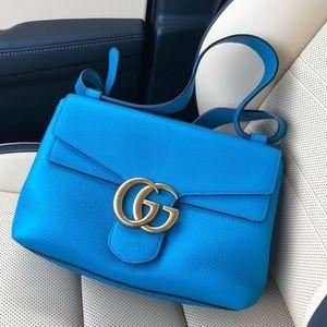 Gucci Medium Marmont GG Shoulder Bag